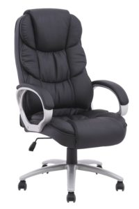 Black-High-Back-Executive-Office-PU-Chair-Computer-Desk