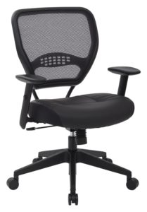 Space-Seating-Professional-AirGrid-Dark-Back